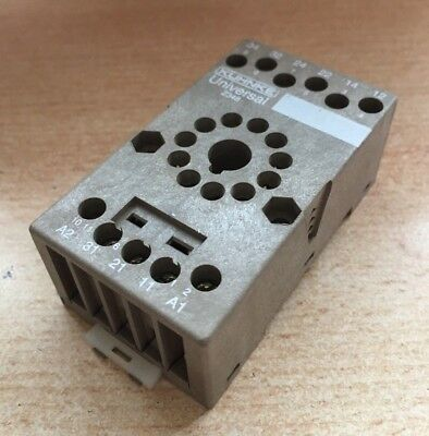 DIN MOUNT SOCKET (logic) for 11 pin relays to suit UF3L by Kuhnke Z348     Z2313