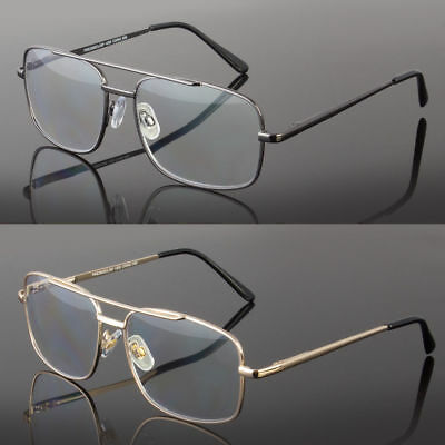 1cec4132ec New Reading Glasses No Line Progressive Clear Lens Retro Square Frame