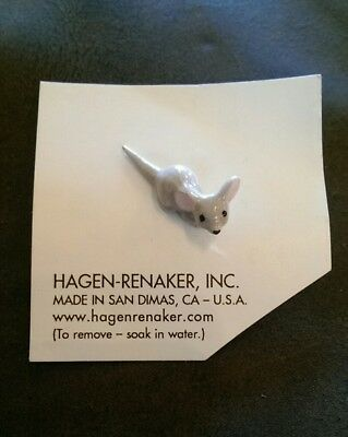 Hagen Renaker mouse baby Figurine Ceramic Miniature 00180 FREE SHIPPING NEW