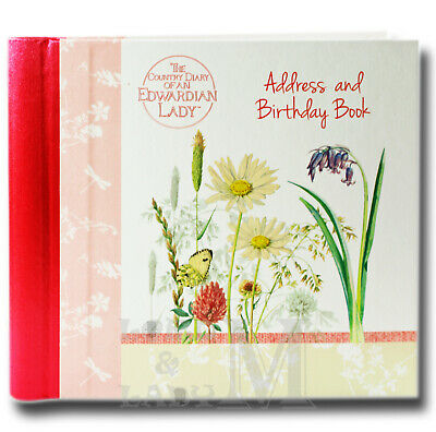 Country Diary of an Edwardian Lady Address Book - Sunny Meadows - Ideal Gift
