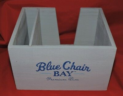 Kenny Chesney Blue Chair Bay Wooden Napkin Caddy (BRAND NEW)