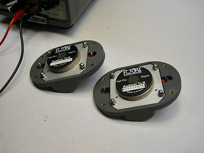 Pair of Focal Audiom TLR tweeters. Rare and valuable. $.99 starting bid