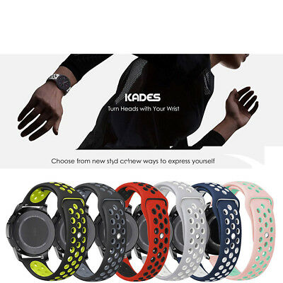 Luxury Sports Silicone Straps Bands For Samsung Gear S3 Classic/Frontier Watch