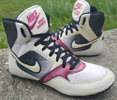 more photos d9400 1a9b7 RARE NIKE GRECO Supreme Wrestling Shoes Size 7.5 -  39.99   PicClick