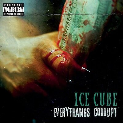 Ice Cube Everythangs Corrupt Cover Poster 2018 Album Art Print 20×20 24×24 32×32
