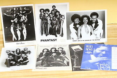Soul Press Kit Photos Del-Tones Phantasy + others Horizon Productions Pictures