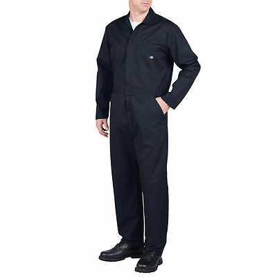 New Dickies Work Clothing Dark Navy Long Sleeve Coverall / Jumpsuits 48611 REG.
