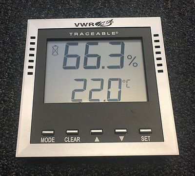 Lot of 3 Used VWR Traceable  Hygrometer Thermometer