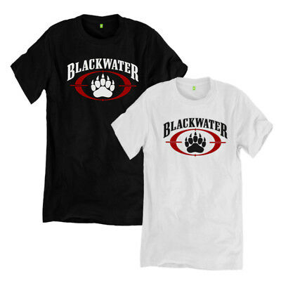 new BLACKWATER Agency Academy Logo private Military Army men's S to 3XL
