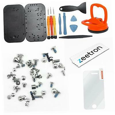 Zeetron Premium Screw Kit Replacement Do It Yourself Kit for iPhone BRAND NEW