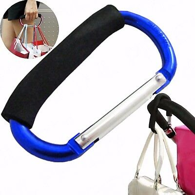 Large Easy Grab Handle Snap Link Carabiner Hook Holder Carrier Bags Mobility Aid