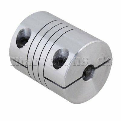 6.35mm x 10mm CNC Stepper Motor Shaft Coupler Flexible Coupling Motor Connector
