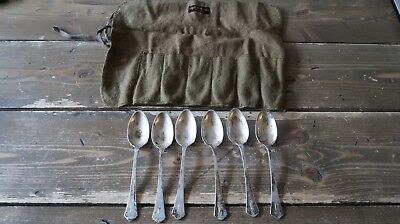 """Antique Sterling Silver R Wallace and Sons 5.75"""" Spoons 188 grams Monogram """"A"""""""