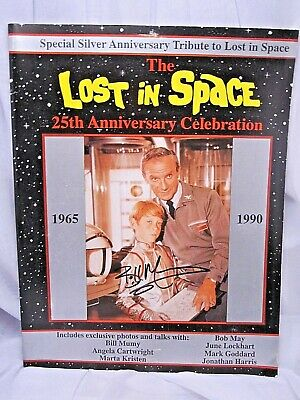 "25th Anniversary LOST IN SPACE COLLECTIBLE SIGNED BY ""WILL ROBINSON"" BILLY MUMY"