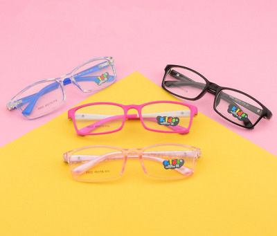 Children boys Girls Kids Eyeglass frames Vintage Retro Glasses Lovely Eyewear
