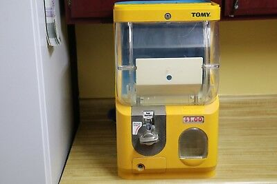 "Tomy Gacha Toy Capsule Vending Machine - 1.00 quarter 2"" - replacement  + Keys"