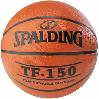 TF-150 Rubber Outdoor Basketball Size 7 From Spalding