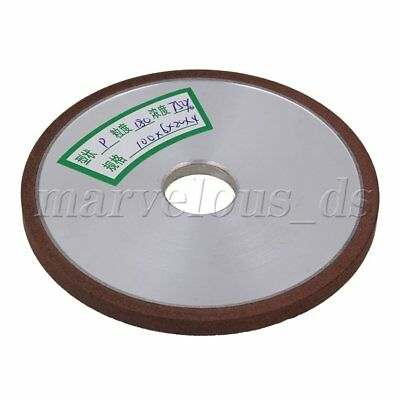 100x6x20mm Diamond Flat Straight Grinding Wheel 180 Grit 75% Concentration