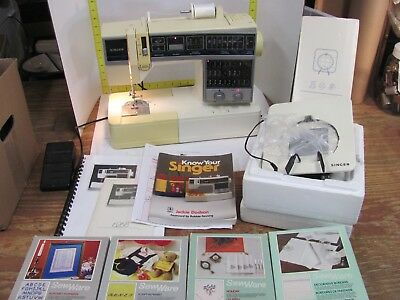 SINGER 40 SEWING Machine Manual Attachments Software Patterns Amazing Singer 6268 Sewing Machine For Sale