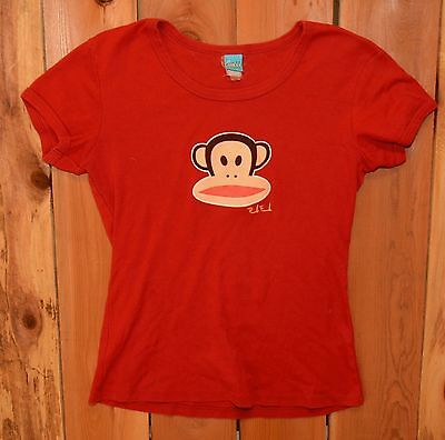 "Paul Frank "" Julius The Monkey "" Graphic Tee Shirt - Woman's Size large"