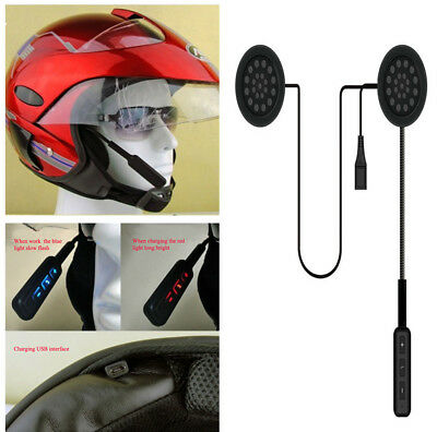 Durable Wireless Bluetooth Headset Motorcycle Helmet Speaker Earphone Headphone