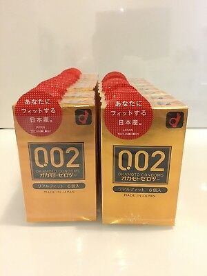 Okamoto Unified Thinness 0.02EX Fit(Japan Edition) 6's Pack