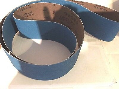 *linishing/sanding belt 150 x 1220 zirc material ideal for all metals 36 grit