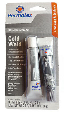Permatex 14600 Cold Weld Bonding Compound two-part adhesive epoxy