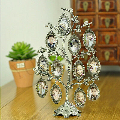 Happiness Family Tree Metal Photo Frame Fashion Wedding Gift DIY Picture Frame