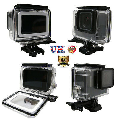 45M Waterproof Housing Underwater Protective Diving Case For GoPro Hero 6 5 UK