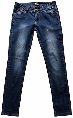 Women's Roberto Cavalli Jeans Pants Donna Slim Fit Elastan M Made In Italy Ks003