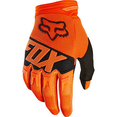 FOX DIRTPAW RACE MX Motocross Cross DH Downhill MTB BMX Handschuhe 2018 orange