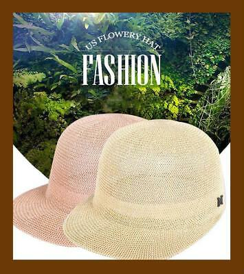 Women s Sun Hat New 2018 Fashion Summer Straw Cap Breathable Sun Protector  Hat e4da2d32a7fe