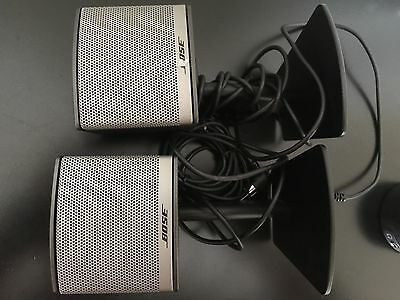 Bose Companion 3 Multimedia Computer Speakers System with volume controler only