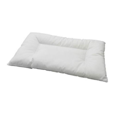 IKEA LEN  35x55cm Soft White Machine Washable Pillow For Cot -Babies 12 Months+
