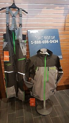 Arctic Cat Jacket & Pants Snowmobile Exclusif Snowchek X-Large Green & Gray