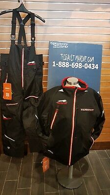 Arctic Cat Jacket & Pants Snowmobile Exclusif Snowcheck X-Large Black&red