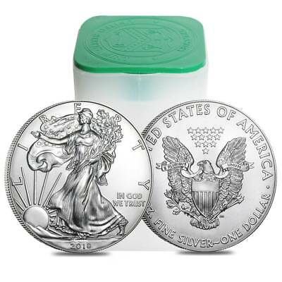 2018 New 1oz American Silver Eagle coin 1 x Silver Bullion Coin.