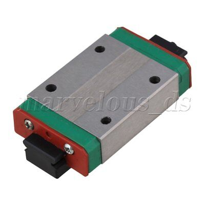 10mm Thick 45mm Length Extension Linear Guide Rail Sliding Block MGN12H
