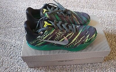 4b2acf28a703 NIKE KOBE XI (Gs) Green Snake Mamba Basketball Shoes New 822945-003 ...