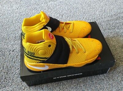 brand new 6bc0f a35c4 NEW Nike Kyrie 2 Youth Basketball Shoes School Bus Size 7Y 826673-700 Rare  HTF