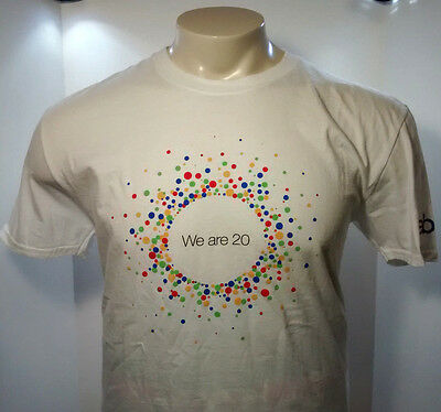 Ebay We Are 20 Collectible T-Shirt Size XL, 20th Anniversary, Ebayana, 2015