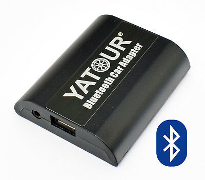 Yatour BTA Bluetooth Freisprechanlage USB AUX Adapter Blaupunkt DMS MP CD Radio