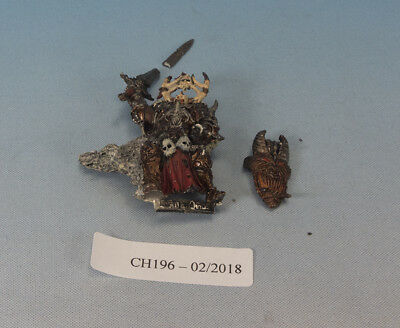 Warhammer Fantasy WFB Aos Sigmar Lord of Chaos Slaves to Darkness damaged CH