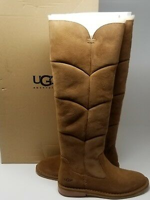 2dd8c4b0c14 UGG AUSTRALIA WOMEN'S Samantha Chestnut Sheepskin Boot 8 M US
