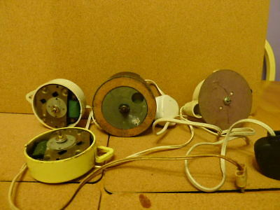 4 x 1950s Mains Powered Movements...Metamec..Temco..Smiths..Spares or repairs..