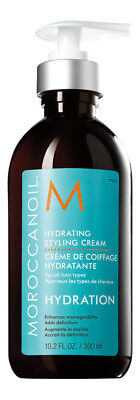 Moroccanoil Hydrating Styling Cream 10.2 oz 300 ml. Sealed Fresh