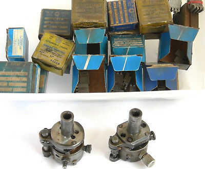 2 Geometric Threading Heads +24 Chaser Die Sets incl for extra small & very fine