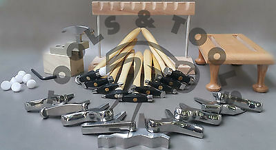 9 Texturing Hammers 10 Miniature Stakes Designing Forming Jewelry Metal Repousse