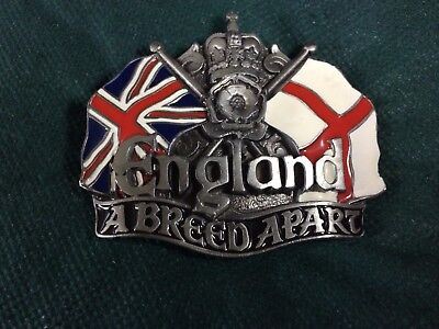 ENGLAND A BREED APART' BELT BUCKLE made in USA by DRAGON COLLECTABLE